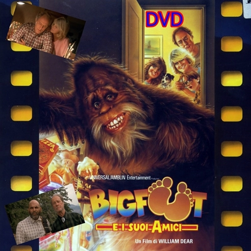 BIGFOOT_E_I_SUOI_AMICI_DVD_1987_John_Lithgow_in_ITALIANO