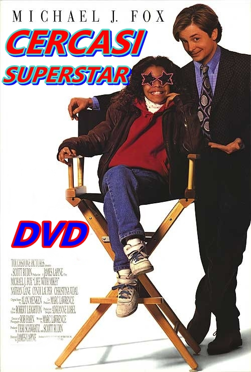 CERCASI_SUPERSTAR__DVD_1993_Michael_J._Fox__Cyndi_Lauper_Nathan_Lane