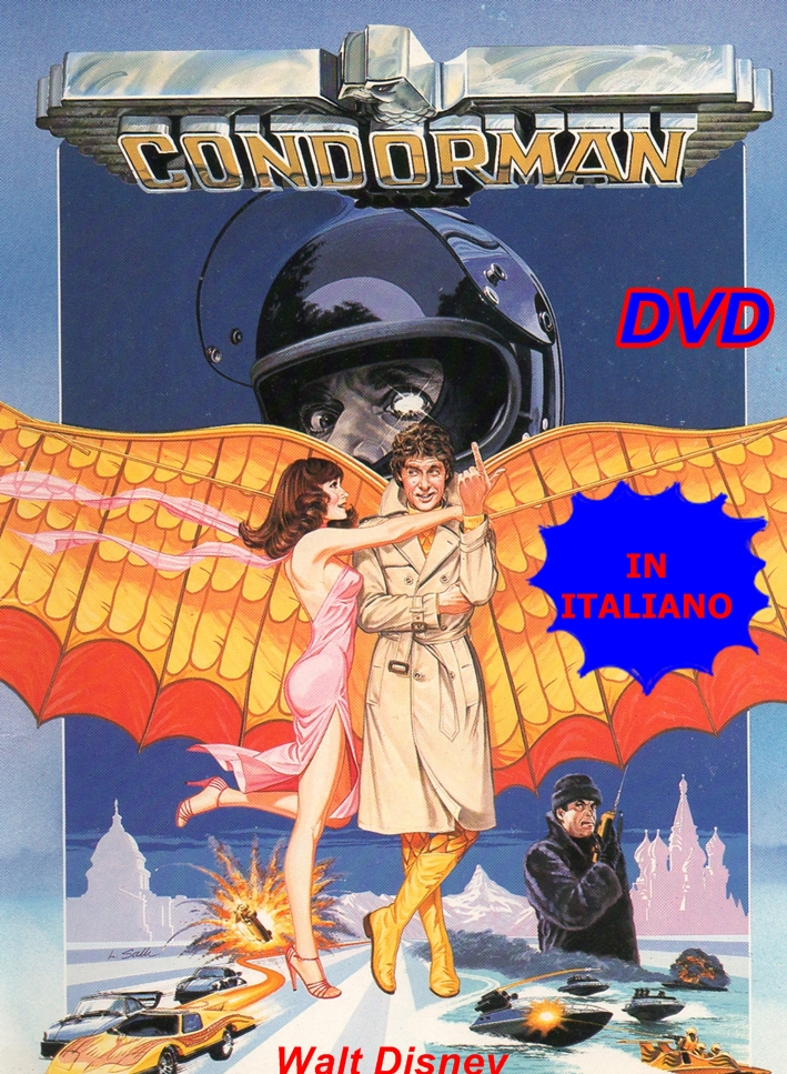 CONDORMAN_DVD_1981_IN_ITALIANO_Walt_Disney_Oliver_Reed