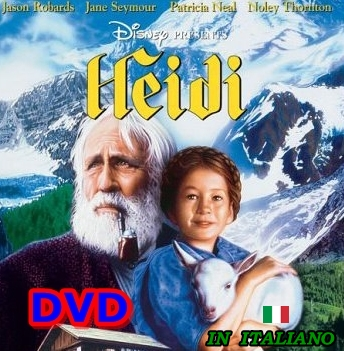 HEIDI_DVD_Walt_Disney_1993_Noley_Thornton_Jason_Robards_ITALIANO