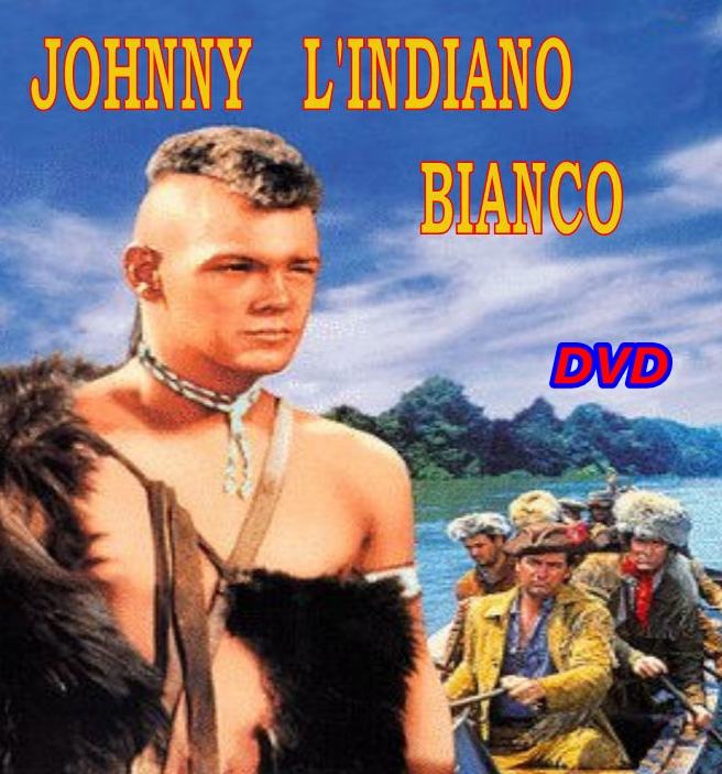 JOHNNY_L'INDIANO_BIANCO_DVD_1958_Walt_Disney_James_MacArthur