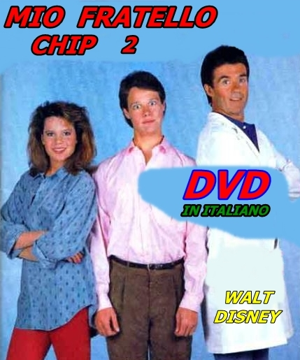 MIO_FRATELLO_CHIP_2_DVD_1989_Walt_Disney_Jay_Underwood