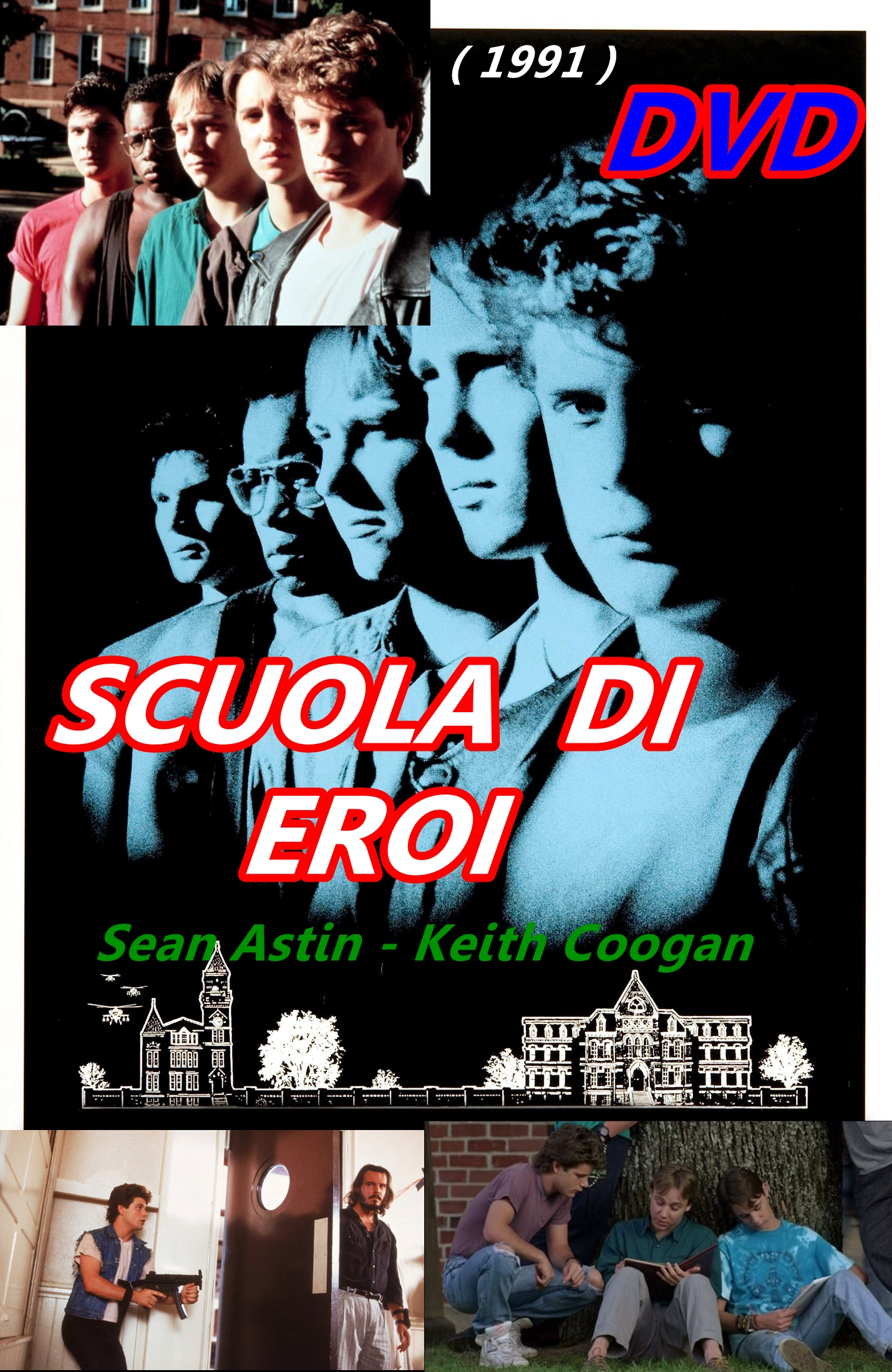SCUOLA_DI_EROI_DVD_1991_Sean_Astin_Keith_Coogan_Toy_Soldiers